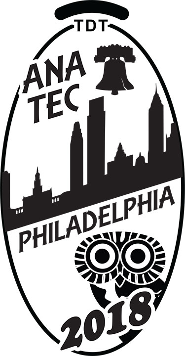 6 Coin TEC Convention Set - 2018 - Philly - Click Image to Close