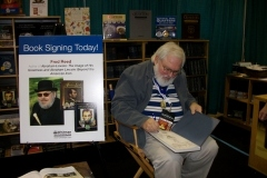 Fred Reed and Oded Paz (with Lincoln book showing Oded's elongated coins)